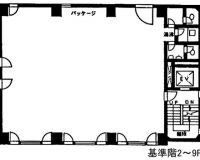 2F~9F(間取)