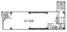 虎ノ門黒沢ビル 25.03坪