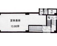 13坪(間取)
