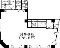 28.5坪(間取)